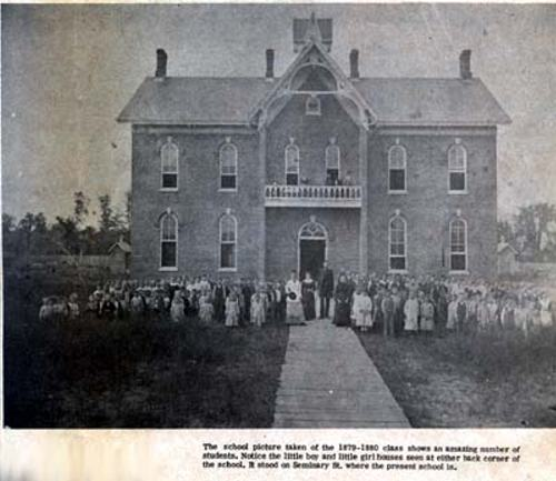 Seminary Street School - 1880