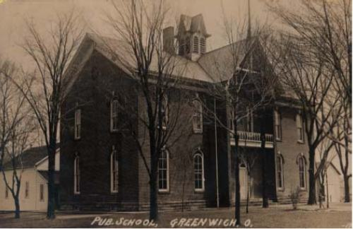 Greenwich High School - 1909