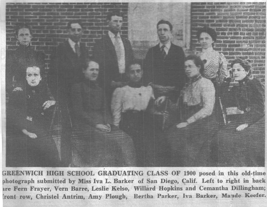 1900 Graduates  ER  September 28, 1956